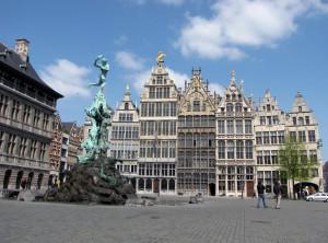 citytrip Antwerpen Grote Markt