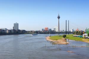 Citytrip Düsseldorf : skyline