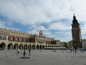 Grote Markt in Krakau
