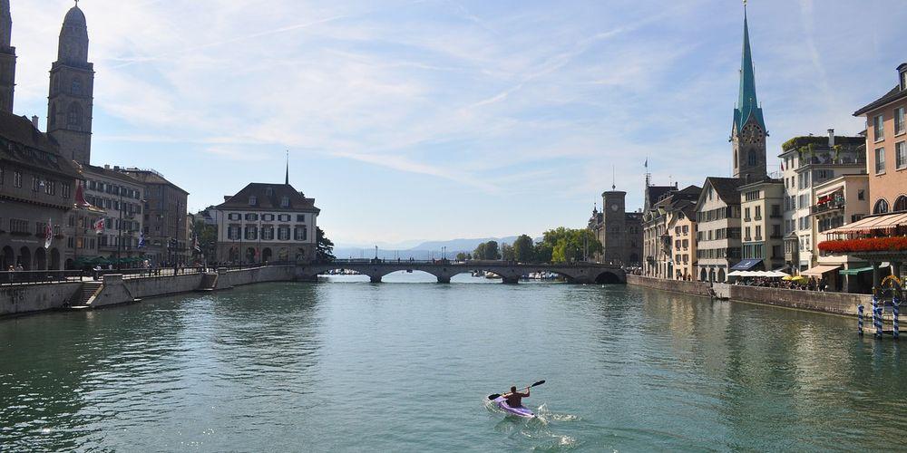 Bezoek de oude stad tijdens je citytrip Zürich