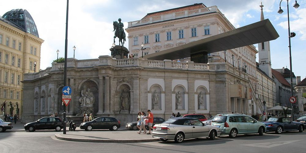Een absolute must see is het Albertina Museum in Wenen