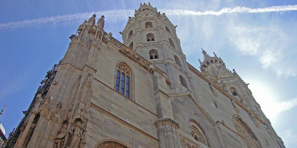 Gevel van de Stephansdom in Wenen