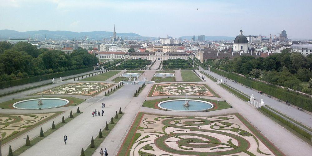Eén van de vel top bezienswaardigheden in Wenen: Schloss Belvedère